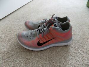 affordable price online for sale outlet store WOMENS 7.5 NIKE FREE 4.0 FLYKNIT RUNNING SHOES WOLF GREY PINK ...
