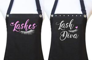 Lash-Extensions-Apron-034-LASHES-034-specialist-salon-waterproof-black-silver-pink
