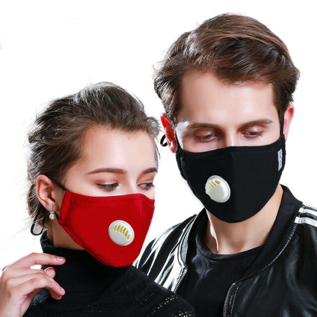 N95 Anti Pollution Mask Reusable Washable Dust Proof Cotton Face Mouth With And For Sale Online Ebay