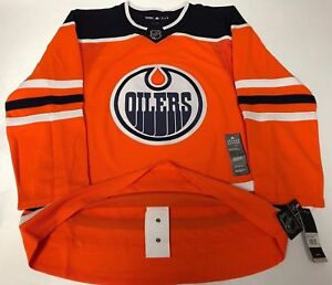 official photos c7366 d3086 Details about EDMONTON OILERS size 54 = size XL - ADIDAS NHL HOCKEY JERSEY  Climalite Authentic