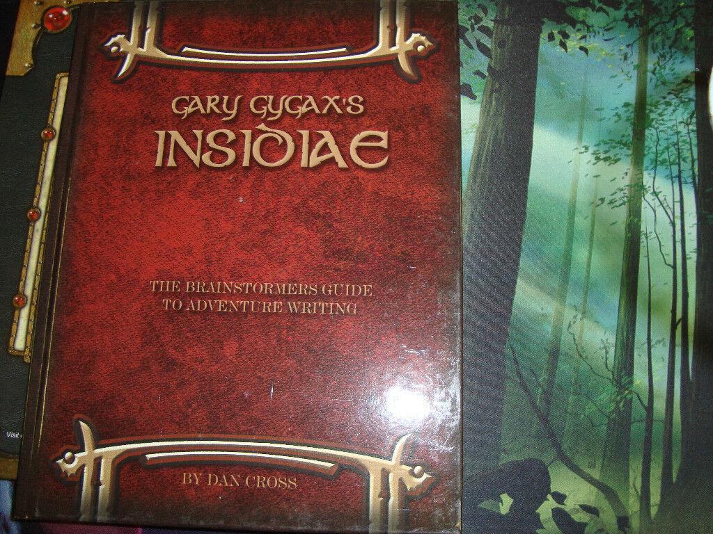 Gary Gygax Insidiae New Unused Dungeons and Dragons 3.0