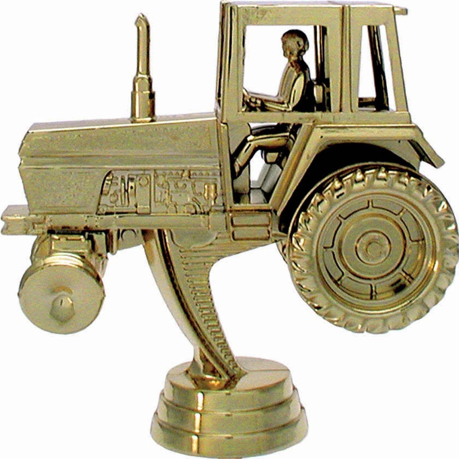 10 agricultura figuras tractor 3d con mármol zócalo (trofeos trofeo medallas)