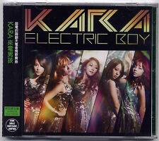 Kara: Electric Boy (2012) Korea Japan  /  CD & DVD  TAIWAN