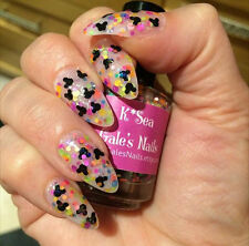 """""""Electrical Parade"""" Handmade Glitter Nail Polish Indie Disney Mickey Mouse Neon"""