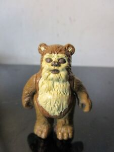 Vintage 1983 Kenner Star Wars Ewok Wicket W. Warrick Figure Return of the Jedi~~