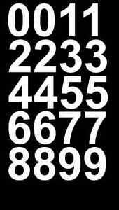 REFLECTIVE-Sheet-of-White-Vinyl-Street-Address-Mailbox-Number-Decal-Sticker-Kit