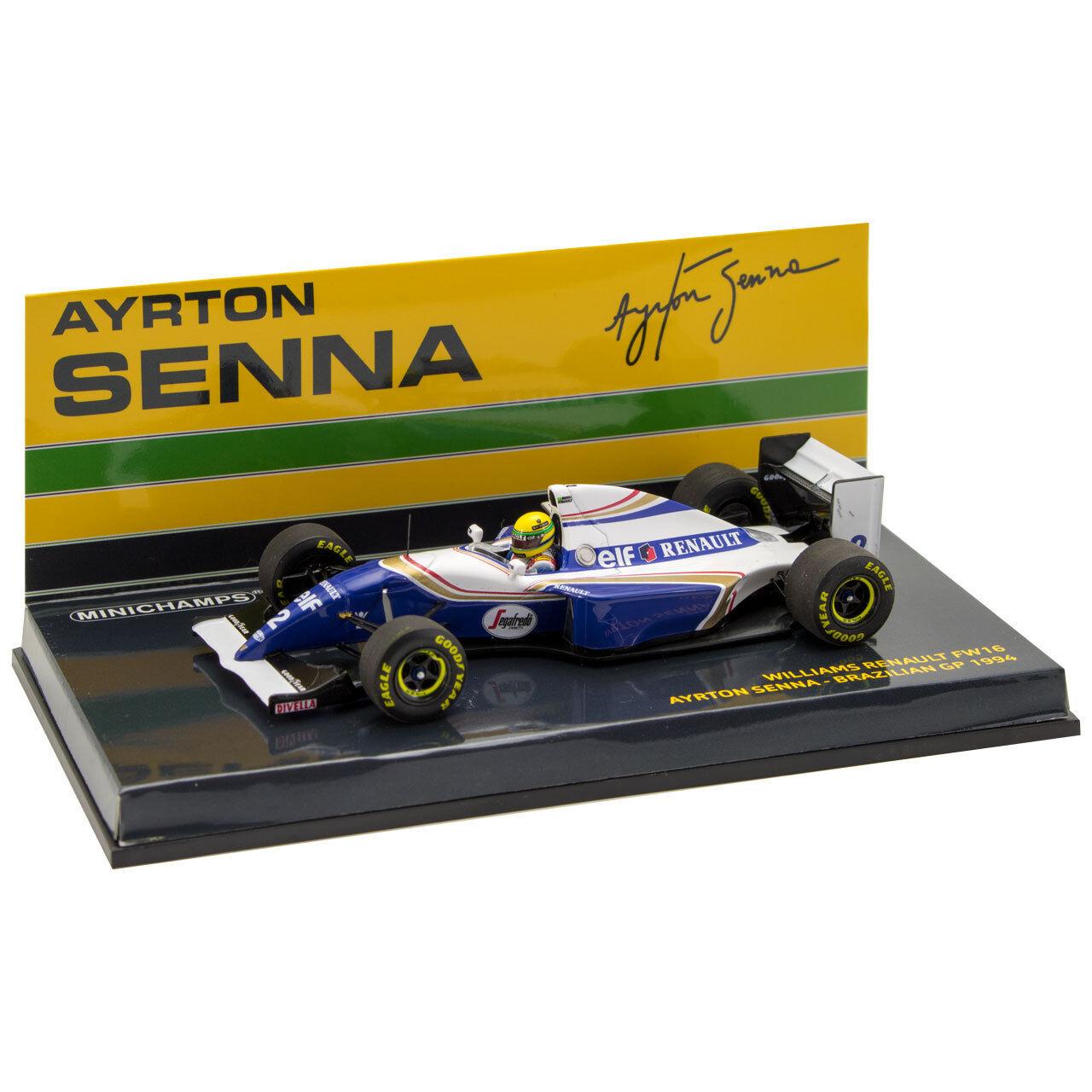 Ayrton Senna Williams Renault FW16 1994 1 43