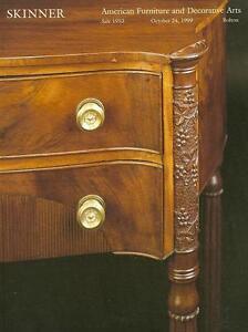 Skinner 1953 American Furniture Decorative Folk Art Auction Catalog 1999 Ebay