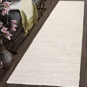 TAPISO-Long-Hallway-Carpet-Runner-Rug-Cream-Plain-Pattern-For-Stairs-Soft-Rugs