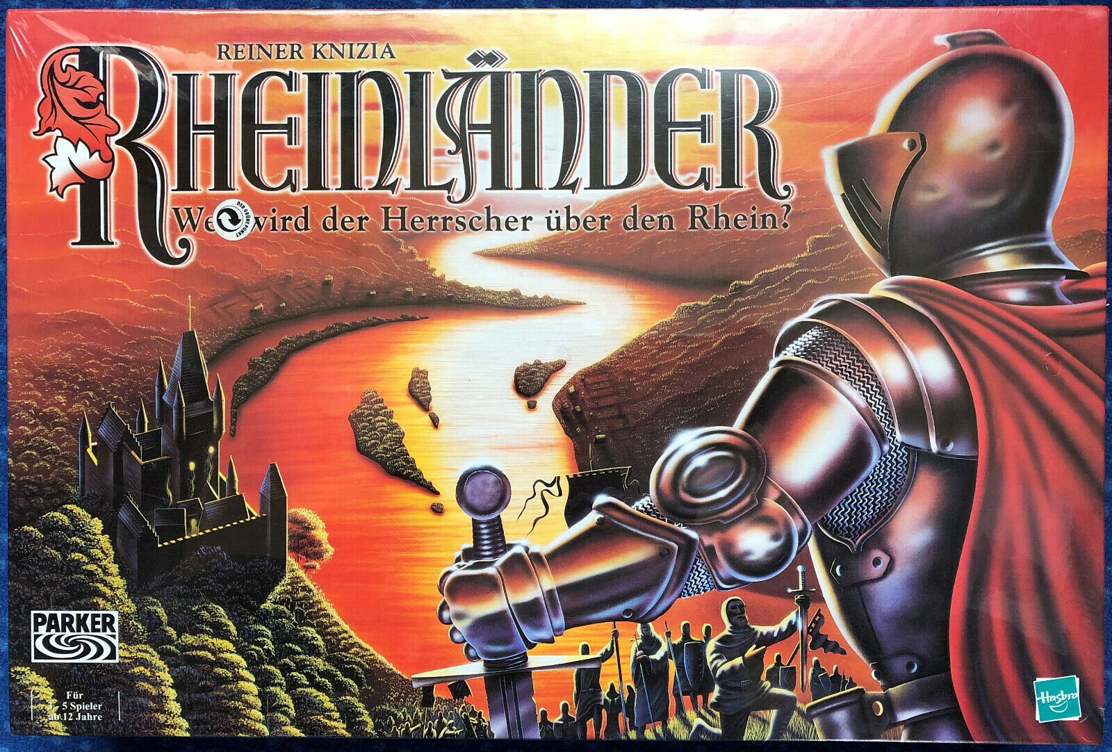 Rhin Pays – Hasbro-Parker – dans leur emballage d'origine article neuf