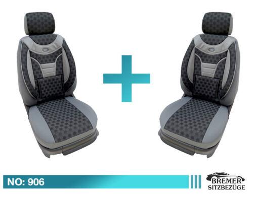 Skoda Rapid MAß Schonbezüge Sitzbezug Auto Sitzbezüge Fahrer /& Beifahrer 906