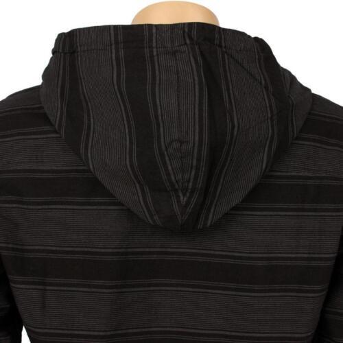 $49.99 JSLV Hoodlum Woven Long Sleeve Shirts MWV8002BLCH black // charcoal