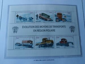 Timbre-TAAF-Poste-n-560-565-neuf-annee-2010