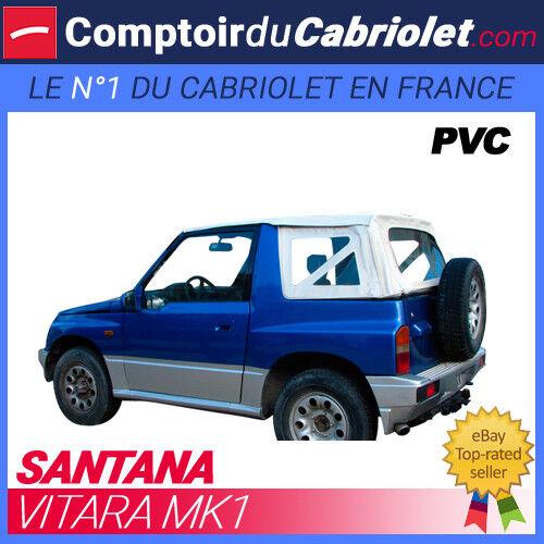 Capote Blanche 4x4 Vitara MK1 cabriolet en PVC