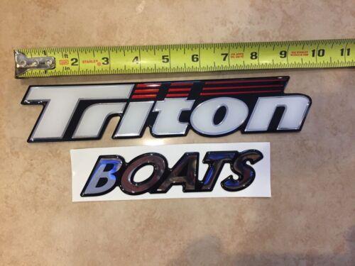 Triton Boat Decals Foam Filled