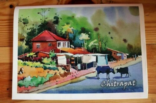 A3 25 sheets Chitrapat Handmade Water Color Paper Block 270 GSM MATTE