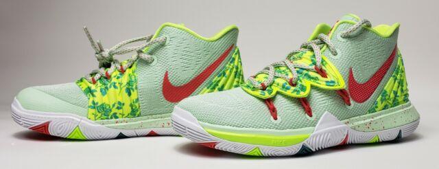 Nike Kyrie 5 Promo Green Basketball Shoe Cq3566-300 Size 5 EYBL Rare