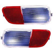 2006 - 2010 CHRYSLER PT CRUISER REAR BUMPER BACK UP LAMP LIGHT RIGHT & LEFT SET