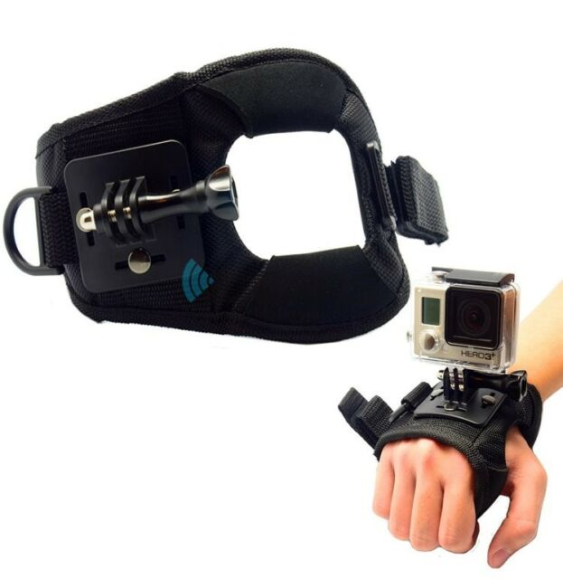 New Accessories Large Size Glove-style Mount Wrist Strap for GoPro Hero 5/4/3+