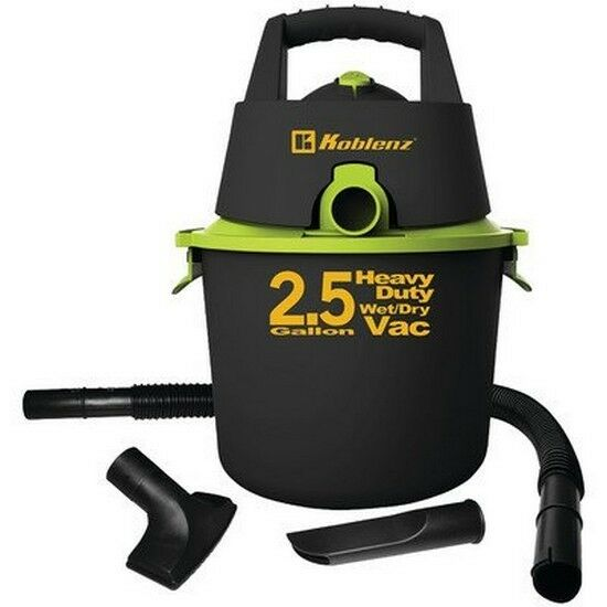 Koblenz 00-5611-9 KOBLENZ WD-2.5K Wet Dry Vacuum Cleaner with 2.5 gallon Tank