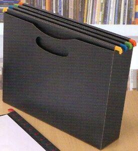 h ngeregistratur h nge registratur box mit 5 h ngeregister mappen ebay. Black Bedroom Furniture Sets. Home Design Ideas