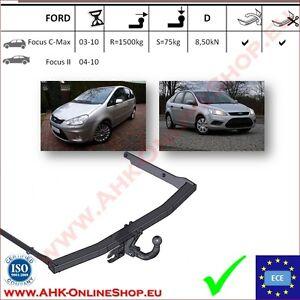 kit el Gancio di traino fisso Ford C-Max dal 2010 13poli