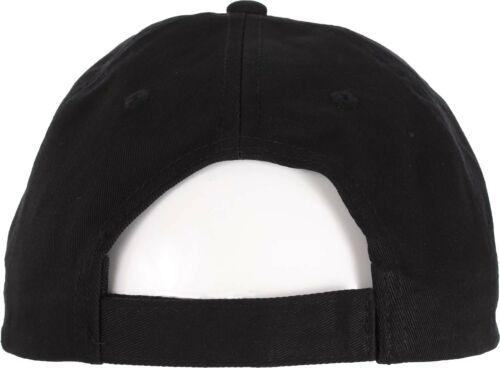 666 Brodé Black Cap Crochet Et Boucle De Fermeture Satan Lucifer Bête occulte Hat