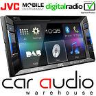 """JVC KW-V235DBT 6.2"""" Double Din DVD MP3 USB AUX DAB Radio & Bluetooth Car Player"""