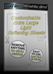 LightDims Variety Pack Get 5 of Our 6 Products in Full Retail Packaging Light Dimming Sheets