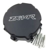 Engine Stator Cover For Kawasaki Zx 14r Zx14r Zzr1400 2006-2014 Black Left Side