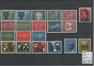 Germany-Federal-Frg-vintage-yearset-Yearset-1960-Mint-MNH-complete-Complete