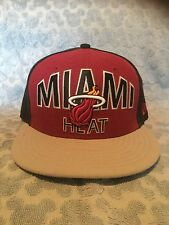 New Era GENUINE NBA Miami Heat Cap Size 7 1/8 BRAND NEW But No Sticker