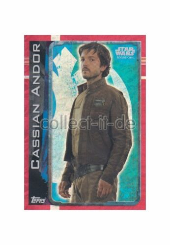Rogue One Topps Star Wars Cassian Andor Holo 171