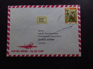 Cover-Correo-Aereo-Air-Mail-Peru-Gestorben-Decede-Deceduto-Suiza-Switzerland