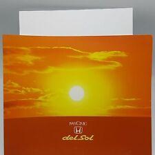 1993 Honda Civic del Sol Deluxe Sales Brochure