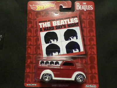 2017 HOT WHEELS THE BEATLES DAIRY DELIVERY RED  HOTWHEELS HW VHTF RARE