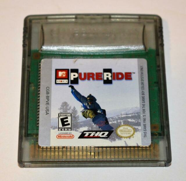 *MTV SPORTS: PURE RIDE NINTENDO GAMEBOY COLOR GBC GAME
