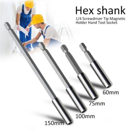 "1//4/"" Hex Rod Shank Screwdriver Tip Holder Extension Bit Quick  Change Hand Tools"