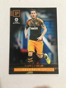 2019-20 Chronicles Soccer Panini Base #402 Daniel Parejo - Valencia CF