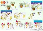 3D A4 Paper Tole Christmas Snowman 3 Pictures NEW