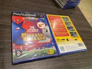 Puzzle Buzzle PS2 Versiegelt Neu IN Spanisch