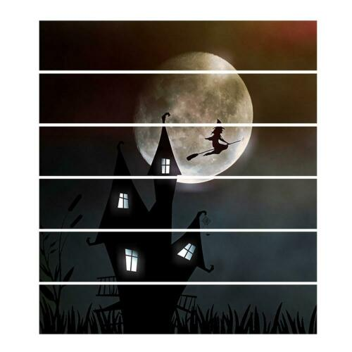 DIY Halloween Wall Stickers PVC Removable Ghost Home Living Room Decor Decals UK