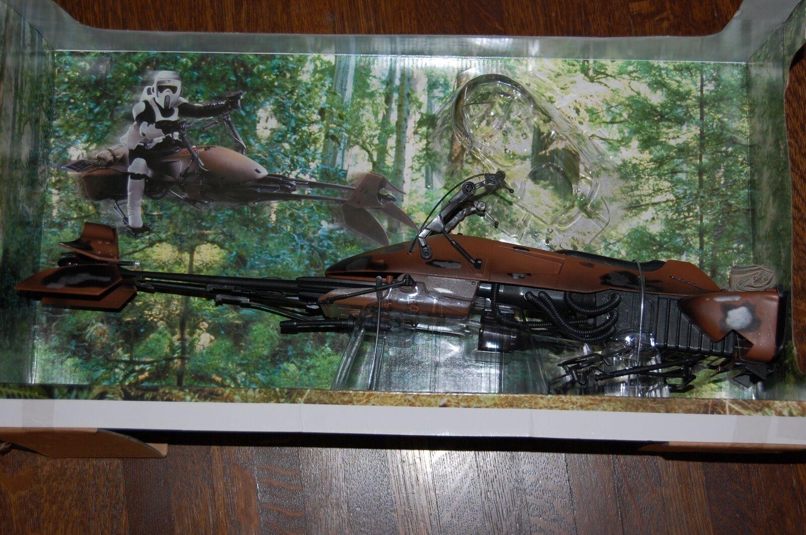 moda Speeder Bike Blaster marcas 12  figuras-Hasbro - 1 6 6 6 - Estrella Wars personalizar lado muestran  descuento de bajo precio