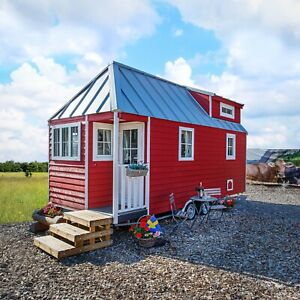 Tiny House/ Mobiles Holz Haus Modell Schweden
