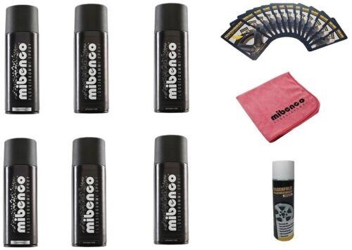 Grundfarbe und Zubehör NEU Mibenco Flüssiggummi 9-teiliges Set aus Effektfarbe