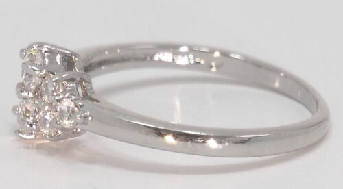 Flawless Russian Diamond Ring Exquisitely Designed Jewelry Various Sizes