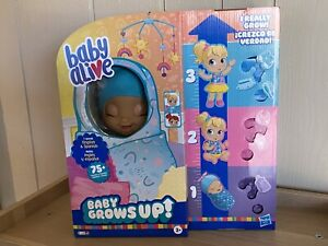 Baby Alive - Baby Grows Up (Happy) Happy Hope or Merry Meadow Growing Doll NIB