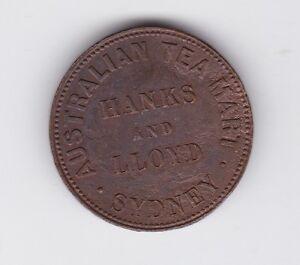 1857-Australia-Token-Hanks-amp-Lloyd-Half-Penny-Sydney-NSW-Z-410
