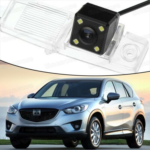 4 LED CCD Rearview Camera Reverse Parking Backup for Mazda CX-5 2013-2016 14 15
