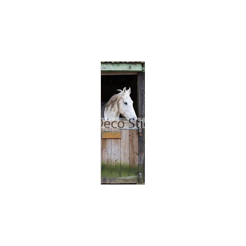 Aufkleber für Tür Flach Pferd 73x204cm Ref 304 0d7323d0dba9